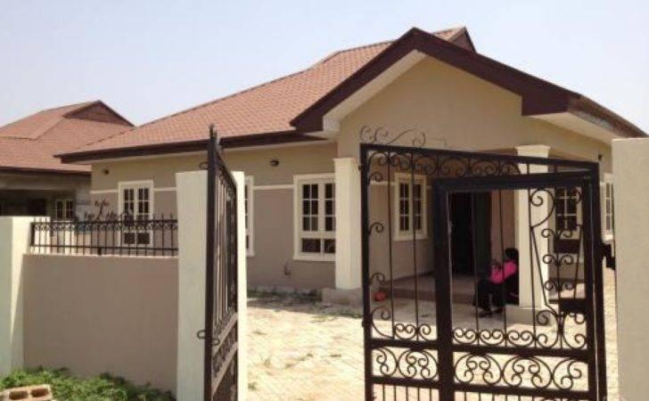 Bedroom Bungalow Houses Nigeria Mexzhouse