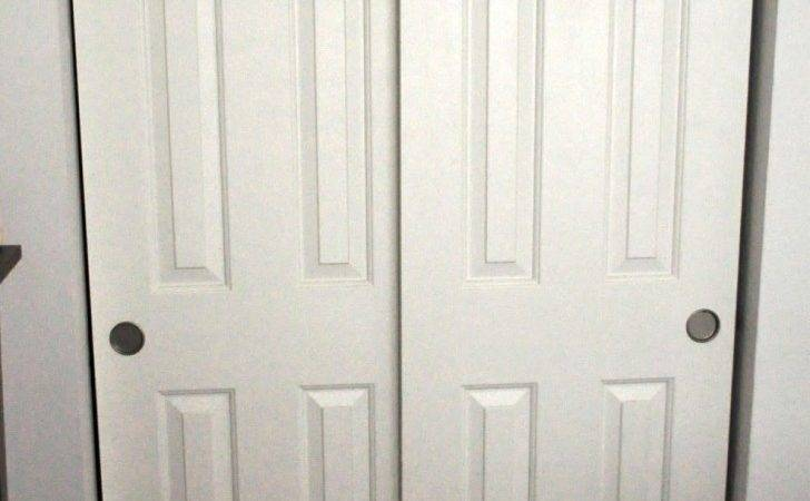 Bedroom Bypass Sliding Closet Doors Snapshot Ideas White Wooden Door