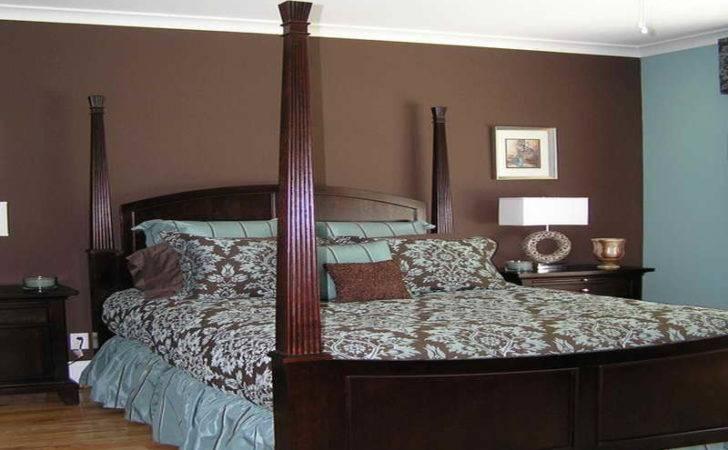 Bedroom Clasic Design Brown Blue Ideas Cool