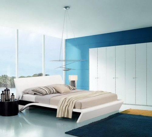 Bedroom Crazy Modern Blue Ideas Exciting