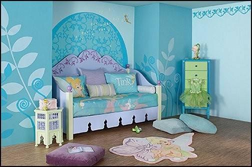 Bedroom Decorating Ideas Disney Fairy Tinkerbell
