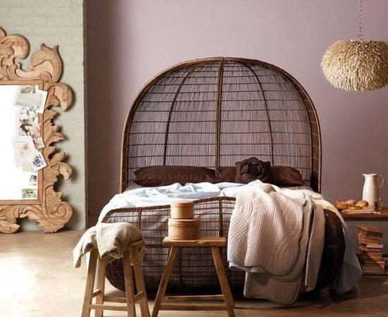 Bedroom Decorating Ideas Exotic African Flavor Modern