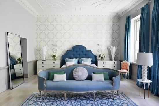 Bedroom Design Advice Elegant Blue London Living