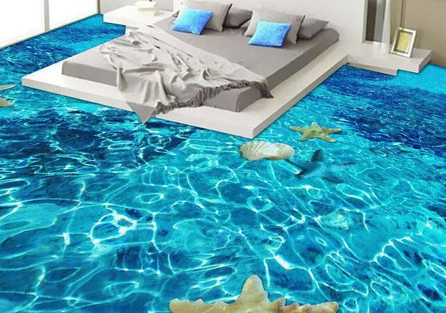 Bedroom Design Tile Flooring Above Sky Feeling
