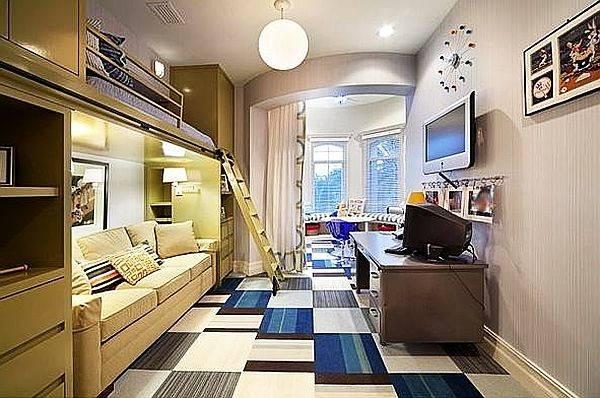 Bedroom Designs Modern Bunk Beds Teenage Boys Room