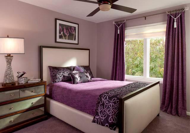 Bedroom Furniture Adults Romantic Purple Ideas