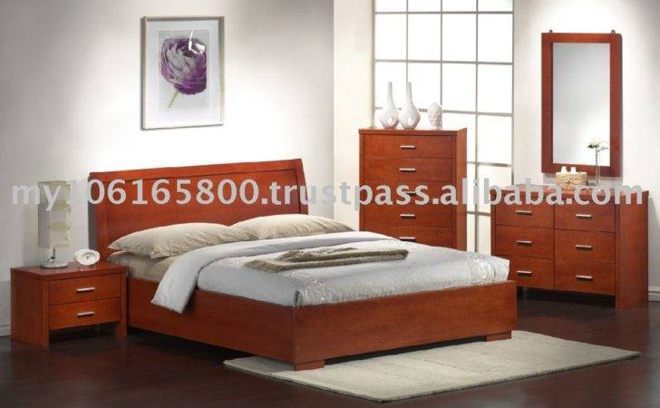 Bedroom Furniture Contemporary Wooden White
