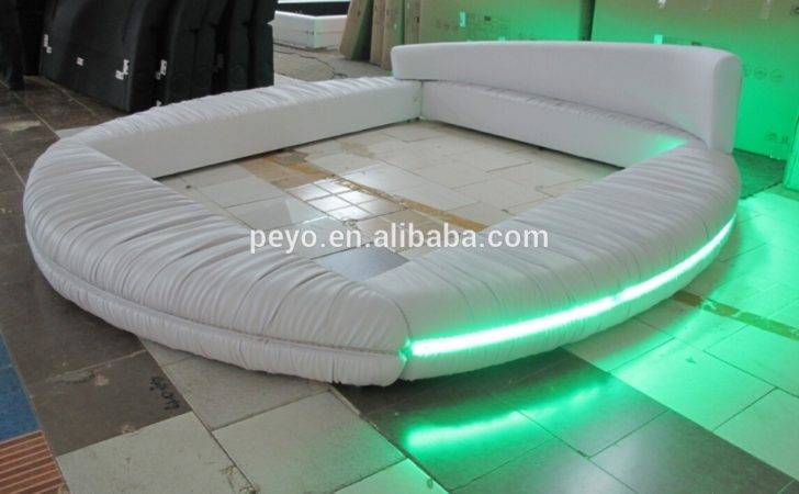 Bedroom Furniture Round Bed Led Buy