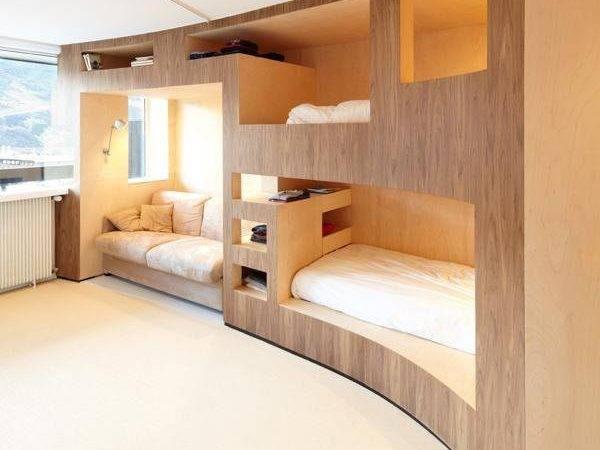 Bedroom Furniture Stylish Space Saving Ideas Modern Loft Beds