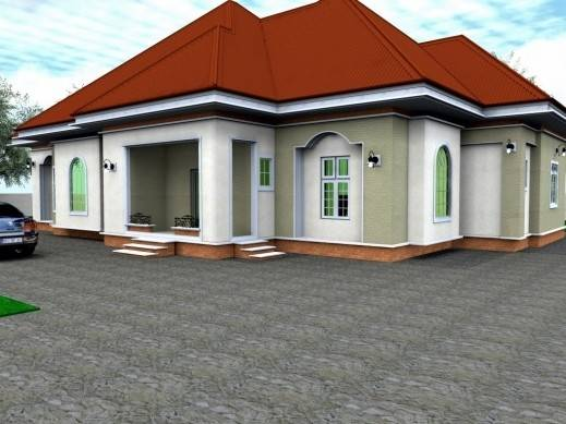 Bedroom House Plans Nigeria Style Ideas Home