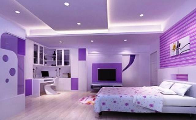 Bedroom Ideas Adults Purple Small Window Curtain