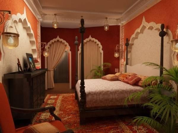Bedroom Indian Style Interiorholic