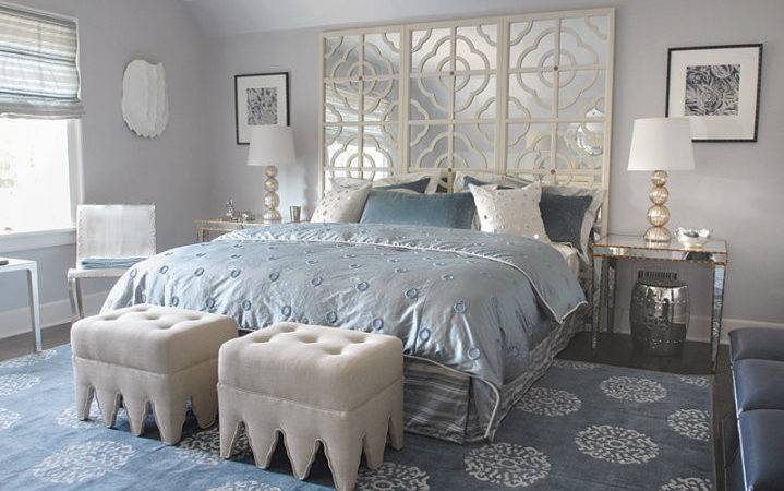 Bedroom Light Blue Grey