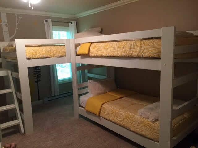 Bedroom Makeovers Custom Loft Bunk Beds