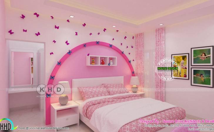 Bedroom Master Interior Kerala Home
