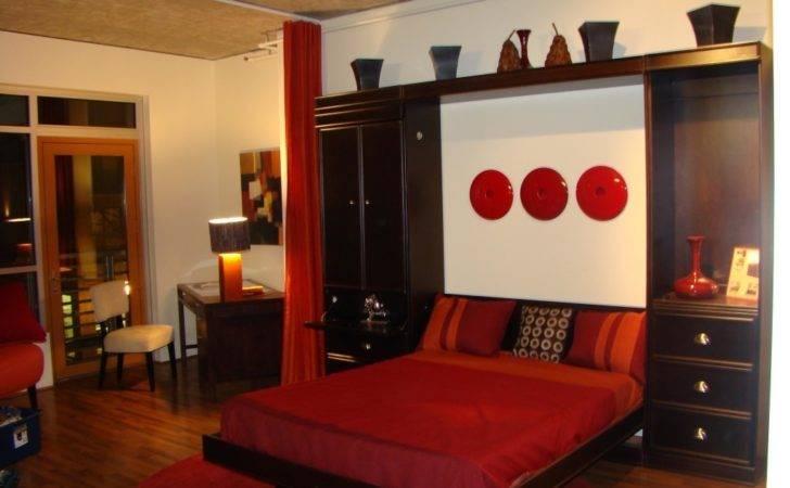 Bedroom Murphy Bed Ikea Desk Painted Wood Throws Lamp Sets Incredible