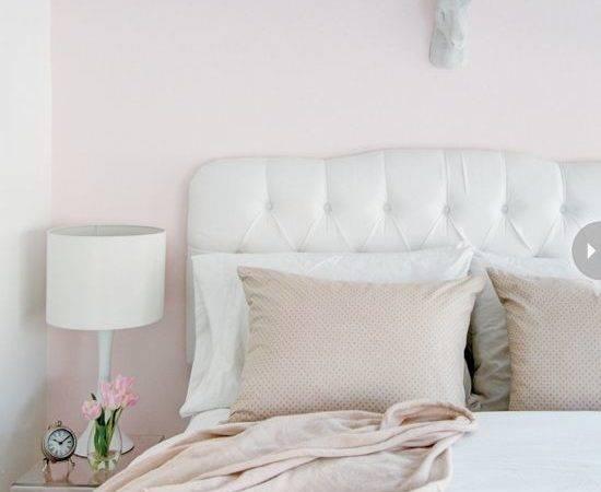 Bedroom Pale Light Pink Bedrooms Decor White
