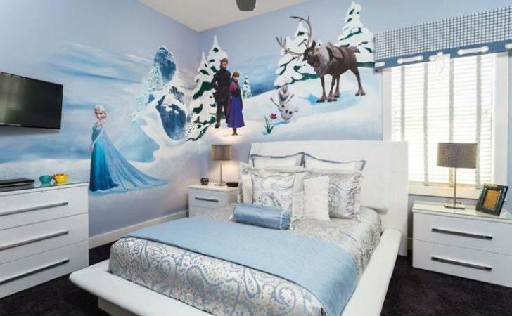 Bedroom Queen Bedrooms Girls Theme Frozen