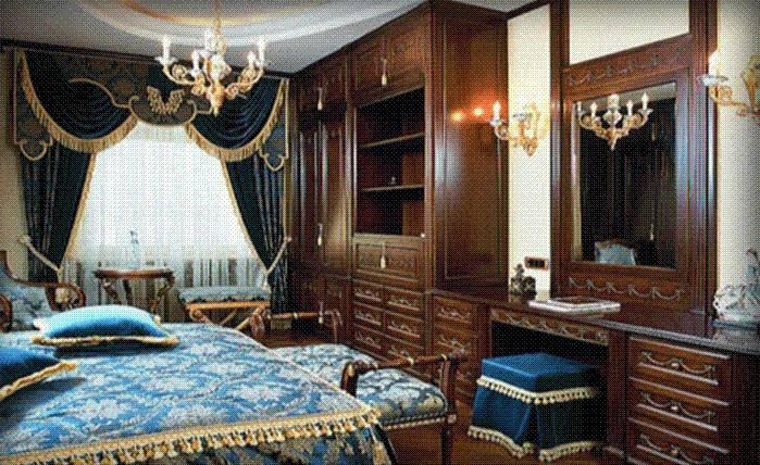 Bedroom Victorian Style