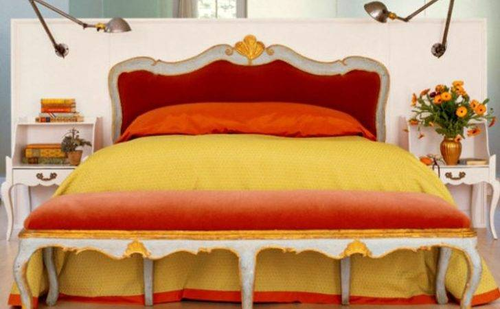 Bedrooms Coral Creams Yellow Beds Design