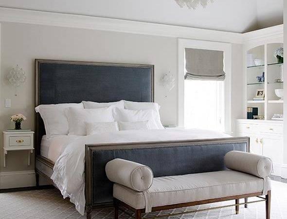 Bedrooms Gray Blue Bedroom