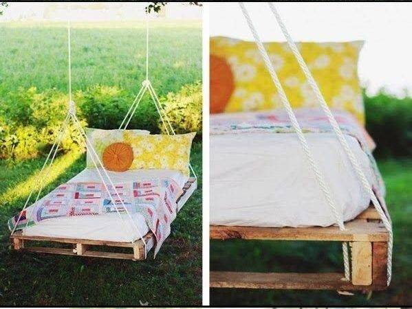 Beds Pallets Swings Back Yards Pallet Hanging