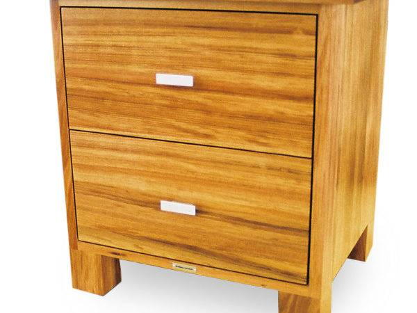 Bedside Cupboard Blackwood