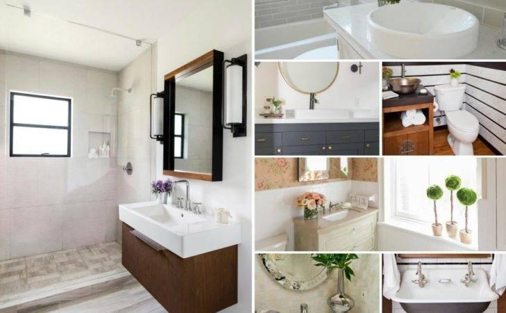 Before After Bathroom Remodels Budget Hgtv