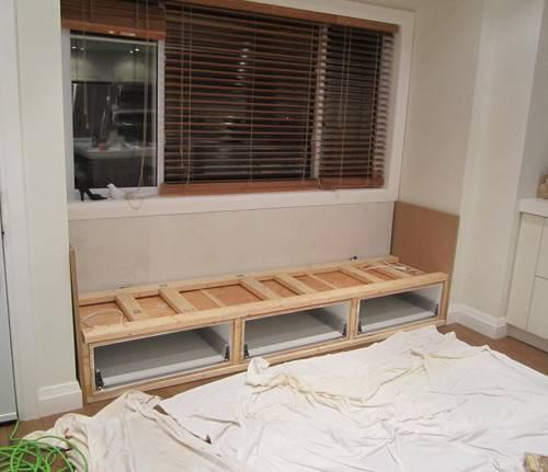 Before After Kitchen Nook Window Seat Design Sponge