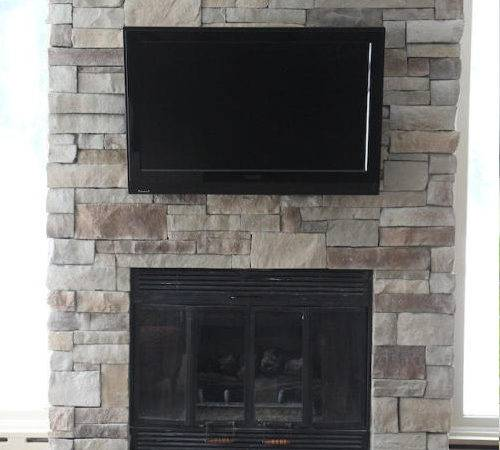 Before After Stone Fireplaces North Star