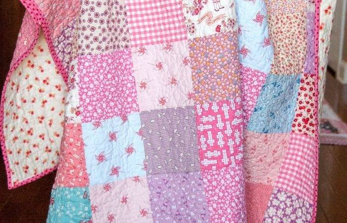 Beginner Quilt Patterns Tutorials Polka Dot Chair