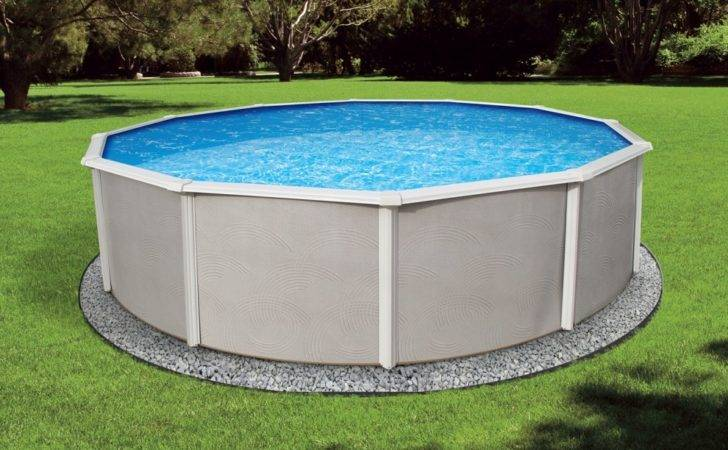 Belize Steel Above Ground Pool