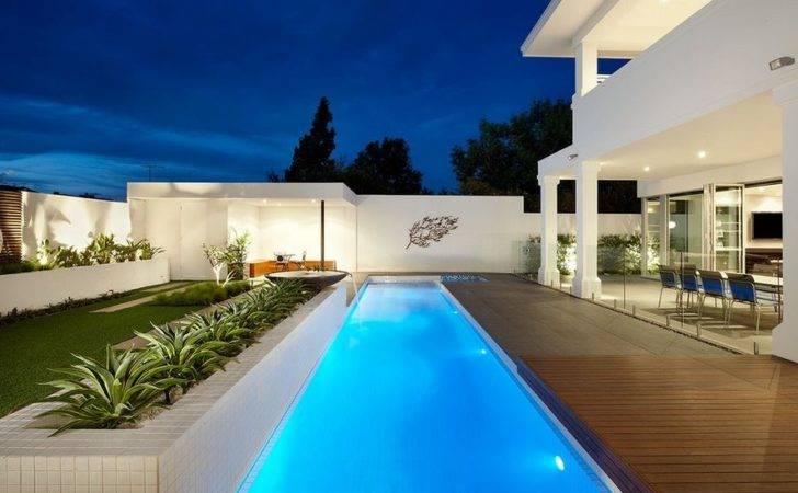 Benefits Lap Pools Their Distinctive Designs