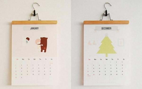 Benjamin Koh Creative Calendars Year