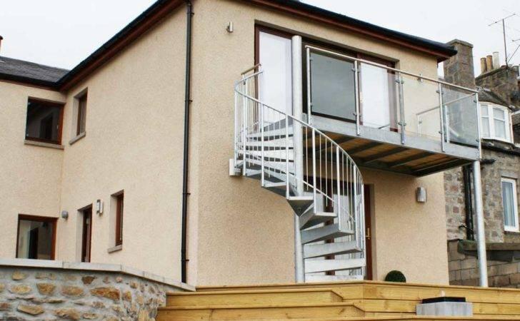 Bespoke Spiral Staircase Aberdeen External