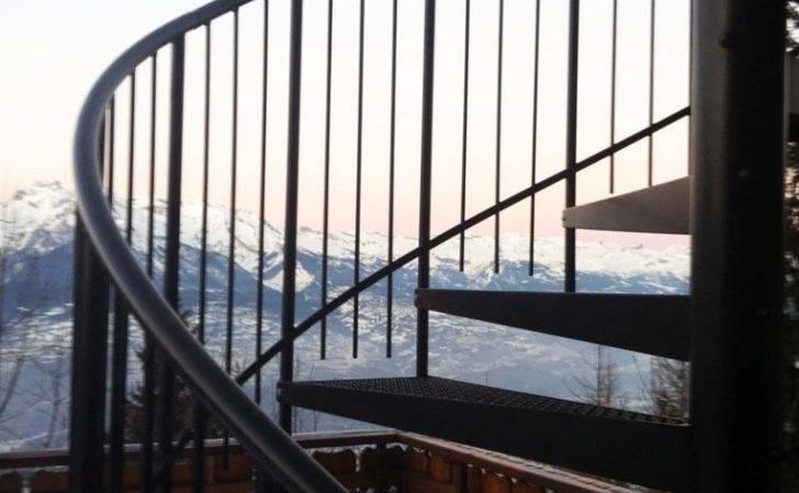 Bespoke Spiral Staircase Switzerland External