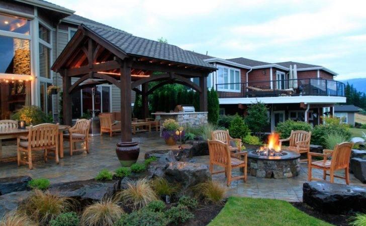 Best Backyard Retreats Fire Pits Chimineas Pots