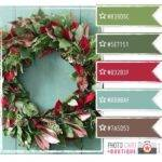 Best Christmas Color Scheme Ideas Pinterest
