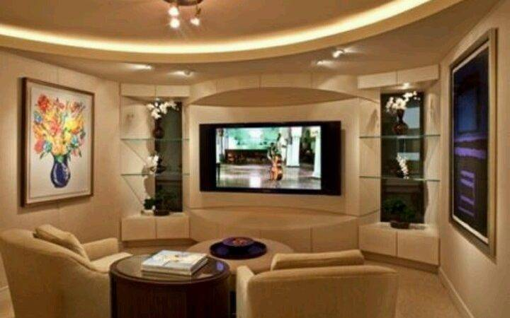 Best Entertainment Room Pinterest Basement Ideas