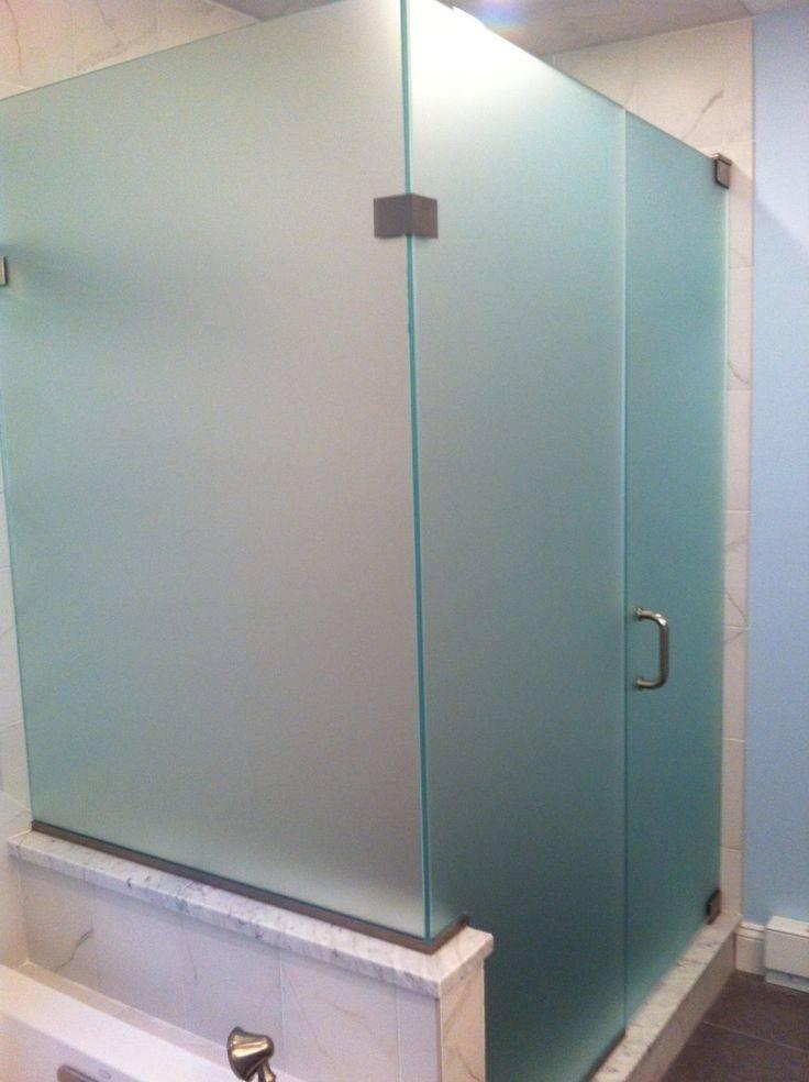 Best Frosted Shower Doors Ideas Pinterest