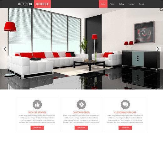 Best Furniture Interior Design Html Web Templates