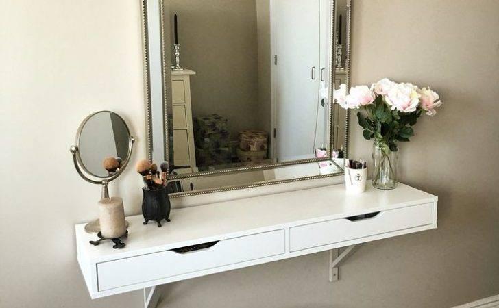 Best Ideas Ikea Makeup Vanity Pinterest