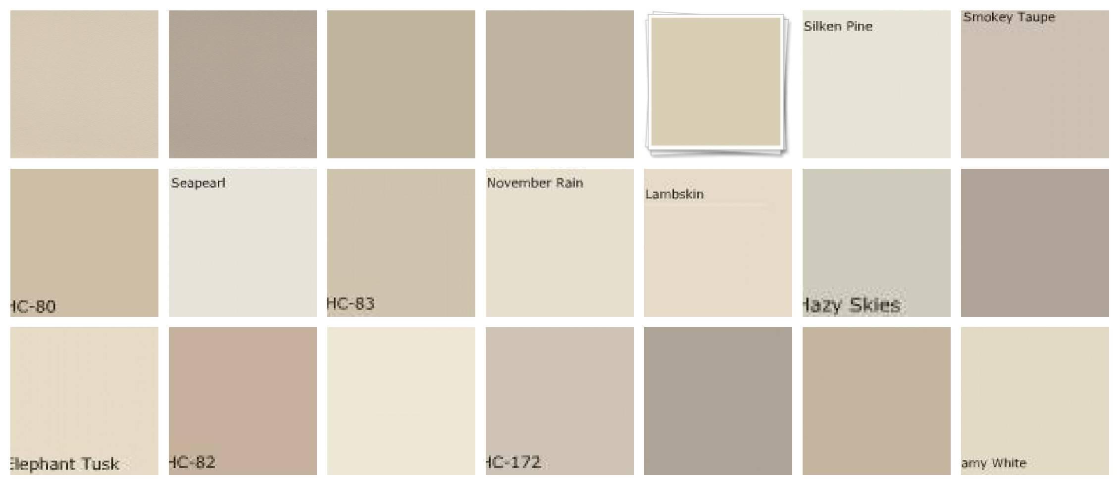 Best Neutral Paint Colors Grasscloth