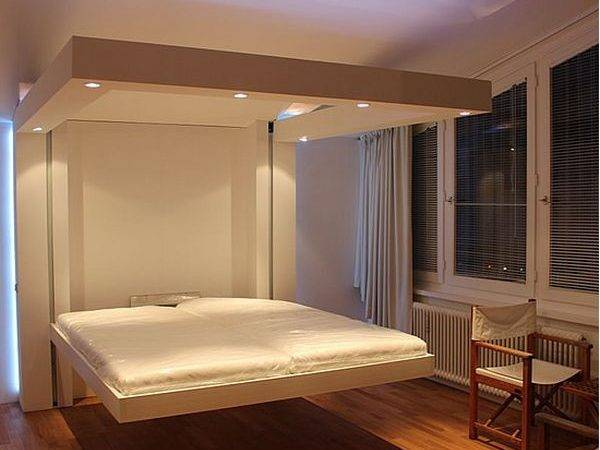 Best Retractable Ceiling Beds One Room Twice Space