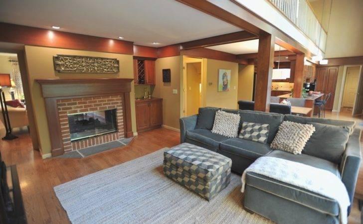 Best Room Color Wood Trim Gray Sofa Also Carpet Ideas