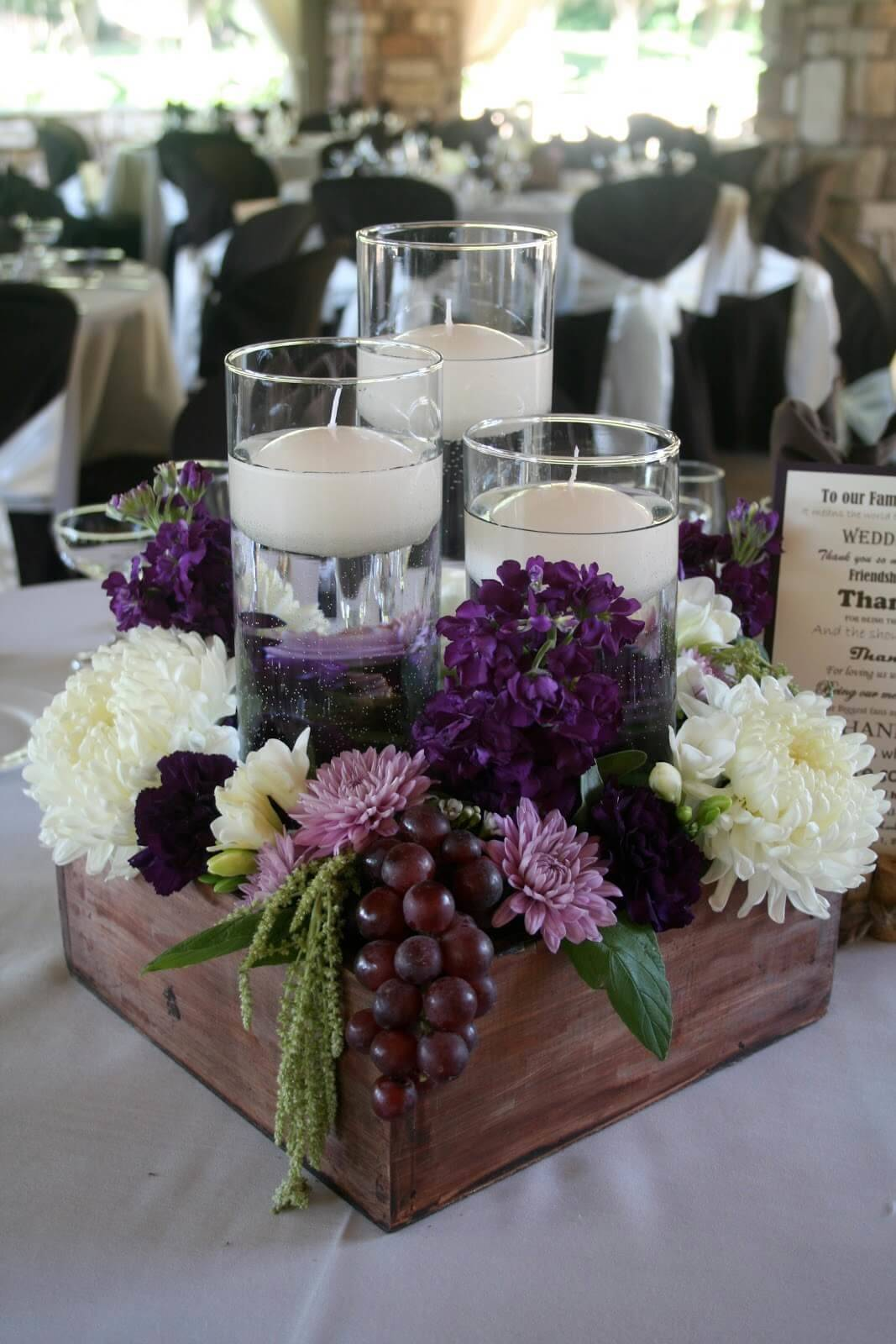 Best Rustic Wooden Box Centerpiece Ideas Designs