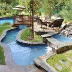 Best Tropical Backyard Lazy River Pool Design Ideas Remodel