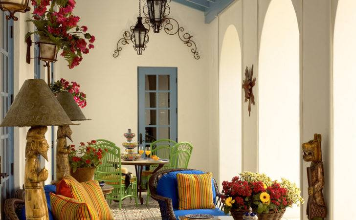 Better Decorating Bible Blog Porch Spanish Tiles Mexican Roses