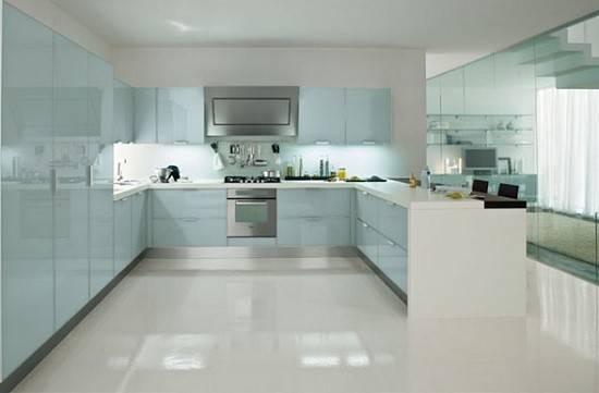Beyaz Mutfaklar Modern Home Design