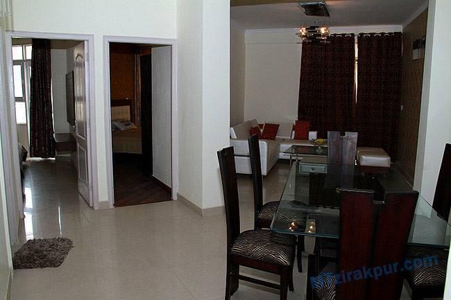 Bhk Sample Flat Apartment Mona Greens Property
